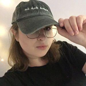 "Brandy Melville ""uh huh honey"" Hat"